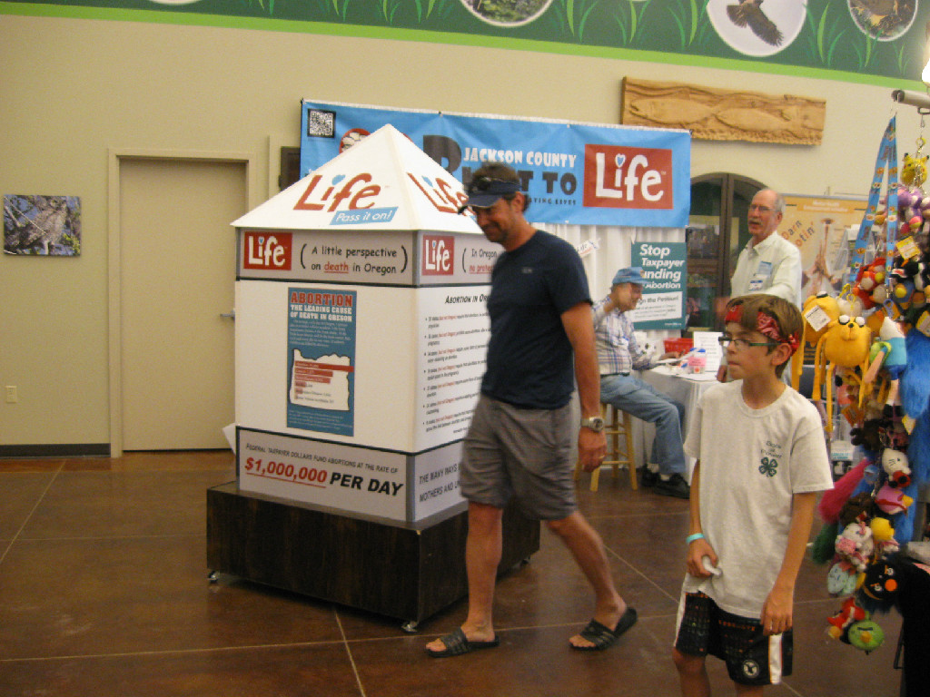 County Fair - Right to Life Display